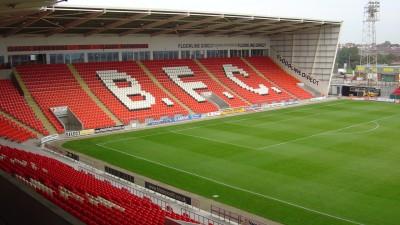 Blackpool Football Club Seating at the Stadium.