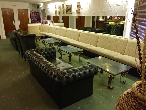 The New Oxford Hotel Blackpool Bar and Lounge Area.