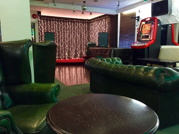 The New Oxford Hotel Blackpool Stage and Seating.