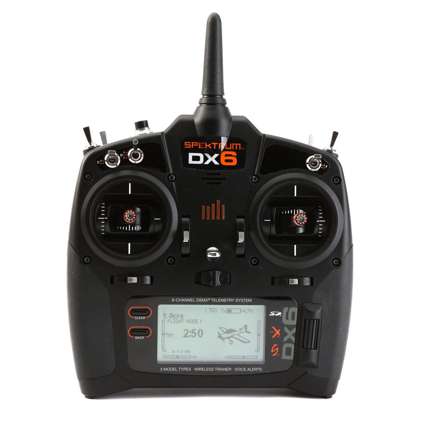 Spektrum DX6 (MODE2)