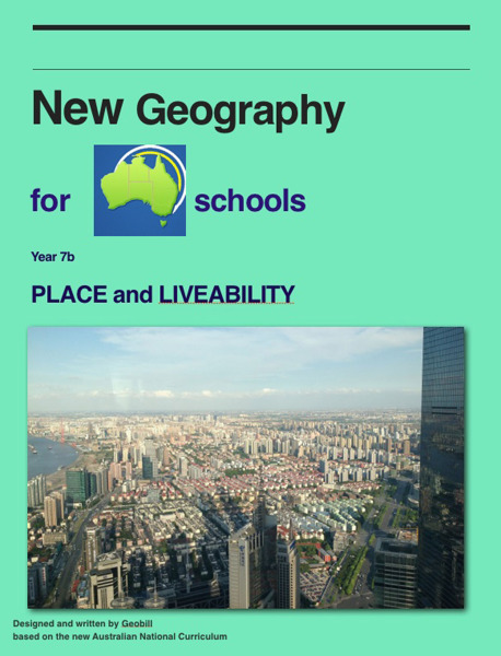 Year 7B Place and Liveability