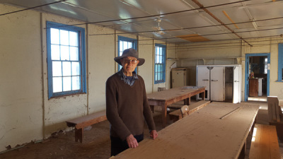 Yanga Woolshed - Old Dining Area for Shearers