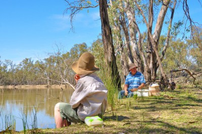 The Murrumbidgee River - Lunch Time