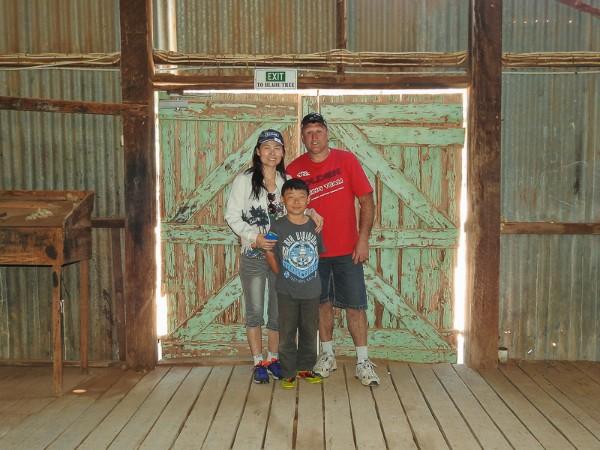 Yanga Woolshed Green Doors