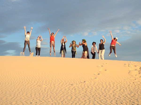Mungo National Park Full Moon Yoga Tour