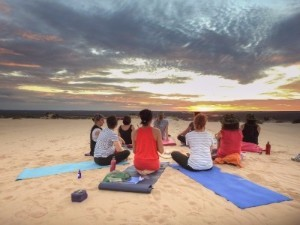 Mungo Yoga Tour, Balranald, NSW