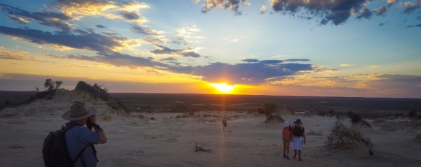 Mungo National Park Sunset Tour