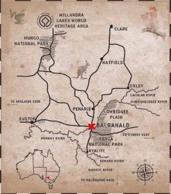 Balranald Map
