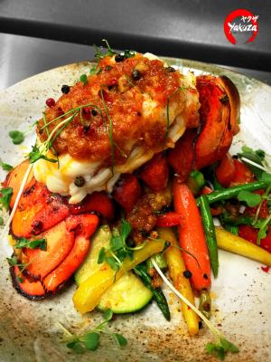 Lobster Peppercorn Garlic