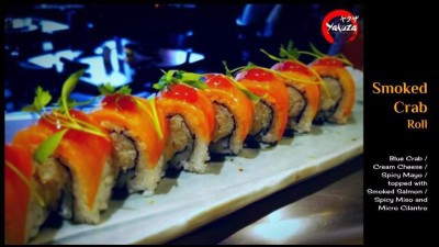 Smoked Crab Roll