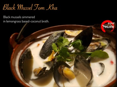 Black Mussel Tom Kha