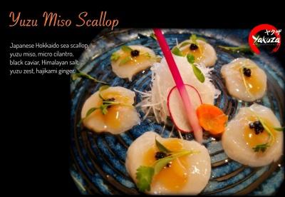 Yuzu Miso Scallop