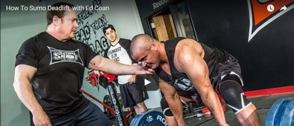 Ed Coan on How To Deadlift Sumo