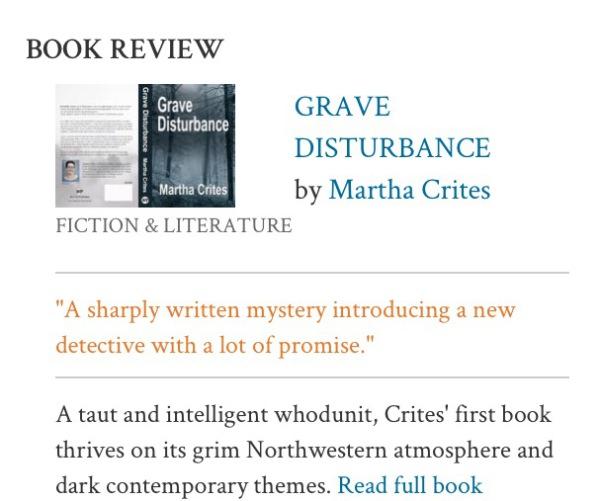 Kirkus Reviews Says: A Sharply Written Mystery