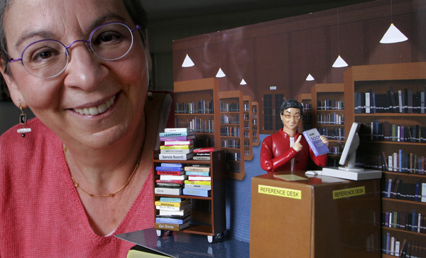 Famous Librarian Action Figure based on Nancy Pearl