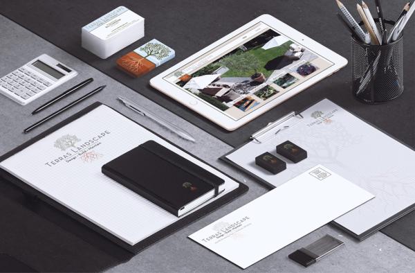 Terras Landscape Branding