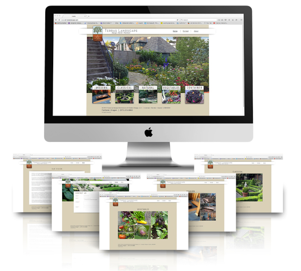 Terras Landscape Website