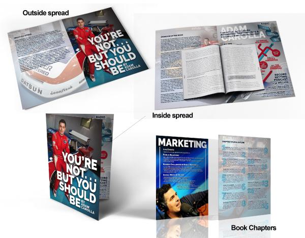 Adam Carolla: book media kit