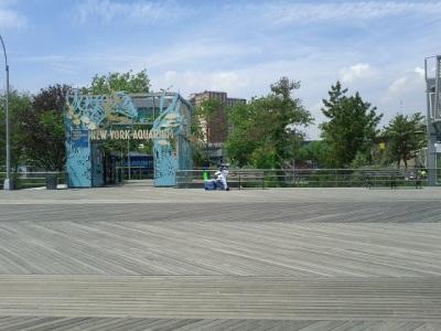 Coney Island Boardwalk - New York Aquarium