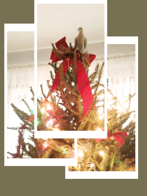 Christmas Tree and Doves