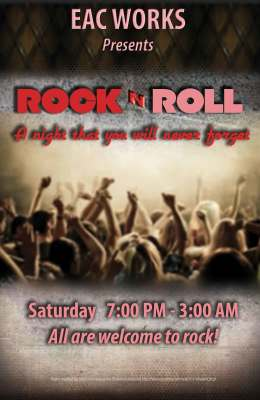 """Poster / Flyer - """"Rock-N-Roll"""" Nuff said!"""