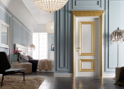 AMANTEA 1314/QQ polished white door