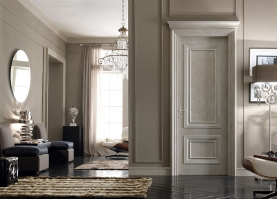 AMANTEA 1314/QQ Satin-finished door