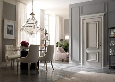 AMANTEA 1314/QQ beige sponge painted door