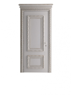 MARATEA 1364/QQ Aged white lacquered door