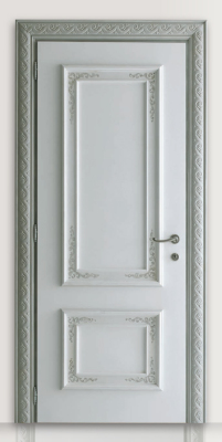 PIETRALTA 1324/QQ Ice coloured sponge painted door