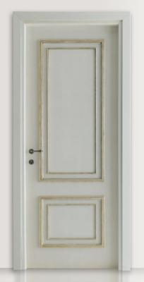 PIETRALTA 1324/QQ Silver-grey painted door