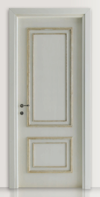 PIETRALTA 1324/QQ Silver-grey painted door
