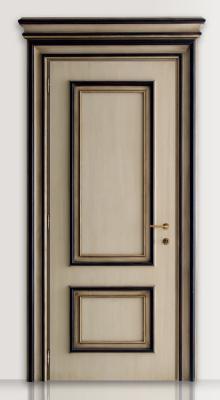 PIETRALTA 1324/QQ Ivory and black painted door