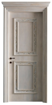 PIETRALTA 1328/QQ  'Shabby charme' decorated door