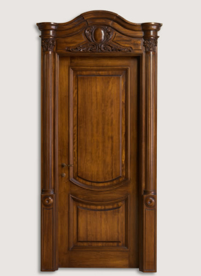 LUIGI XVI 4014/QQ Italian walnut glossy Maggiolino inlay finish with wall panelling