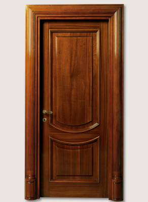 LUIGI XVI 4014/QQ coated mahogany with embossment without carvingcoated mahogany with embossment without carving