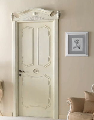 AIX EN PROVENCE 7016/QQ with Aix en Provence archway Antique-effect RAL 9010 Decapé with wax finish