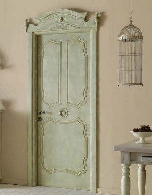 AIX EN PROVENCE 7016/QQ with Aix en Provence archway Aquamarine coated finish