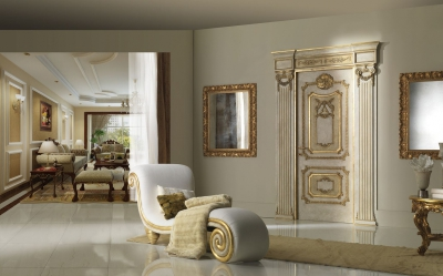 "PALAZZO FARNESE 1022S/QQ/INT topcoat ""Antica Melodia Fiorentina"", casing with cyma Trianon"