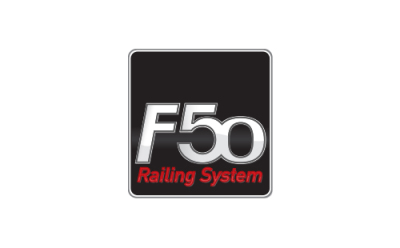 F50 Brand                                                                                                                                            The brand registered trademark of F50 Railing System of ALUMINCO.