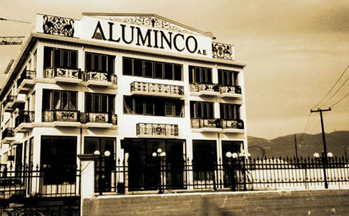 Today, ALUMINCO has become an integrated full services aluminium industry which processing aluminium in three ways:  Extruding: with a production capacity of 13,000 tonnes of aluminum profiles annually. Doors: with a production capacity of 70,000 panels per year.  Casting: with a production capacity of 1,000 tonnes per year.