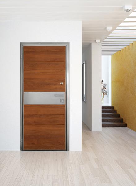 Hidden Hinge door