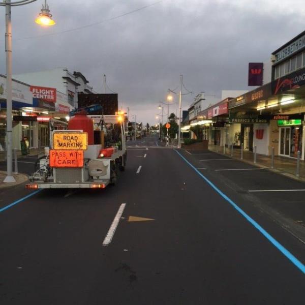 Auckland Christmas Parade Blue Lines