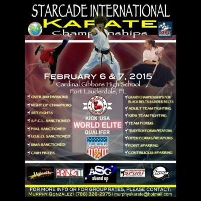 Starcade International  Karate Championships