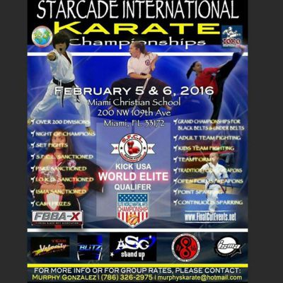 Starcade International  Karate Championships