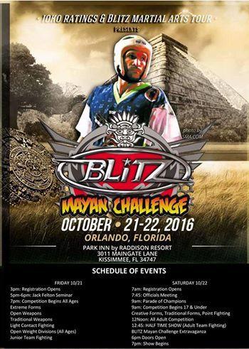 Blitz Mayan Challenge