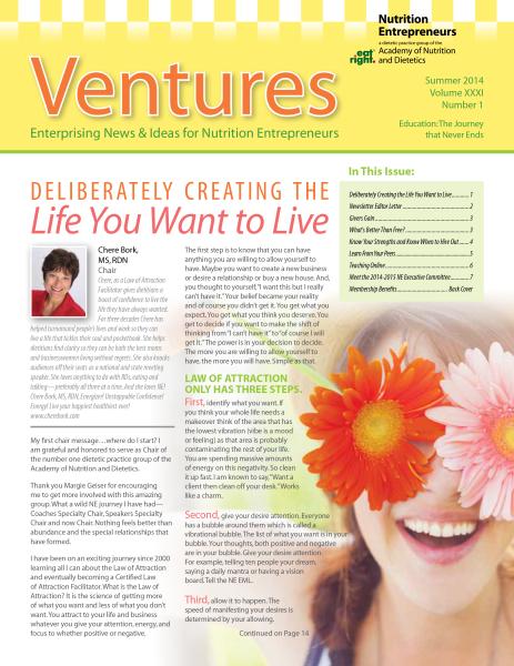 Nutrition Newsletter
