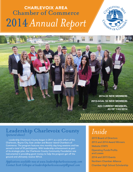 Chamber of Commerce Annual Report