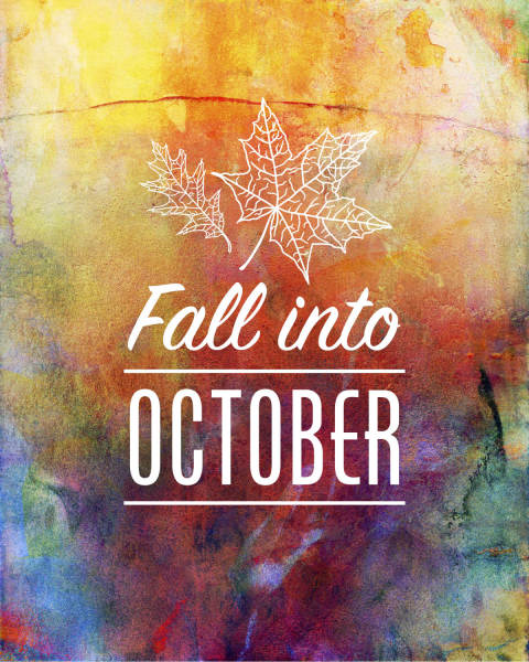 printable, card, print, graphic, chalkboard, art, fall, october