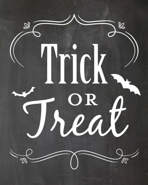 printable, card, print, graphic, chalkboard, art, halloween